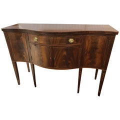American Federal Serpentine Sideboard