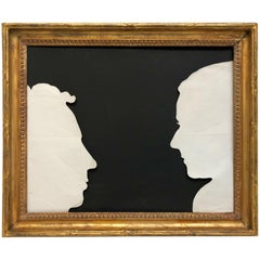American Federal Silhouettes of Livingston Family Members
