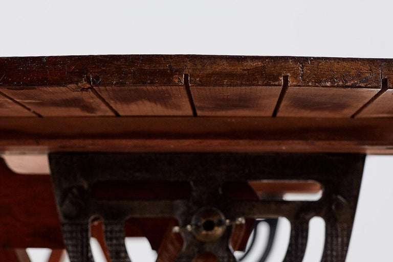 Amerikanische Faltung Zeichentisch oder Schreibtisch 16