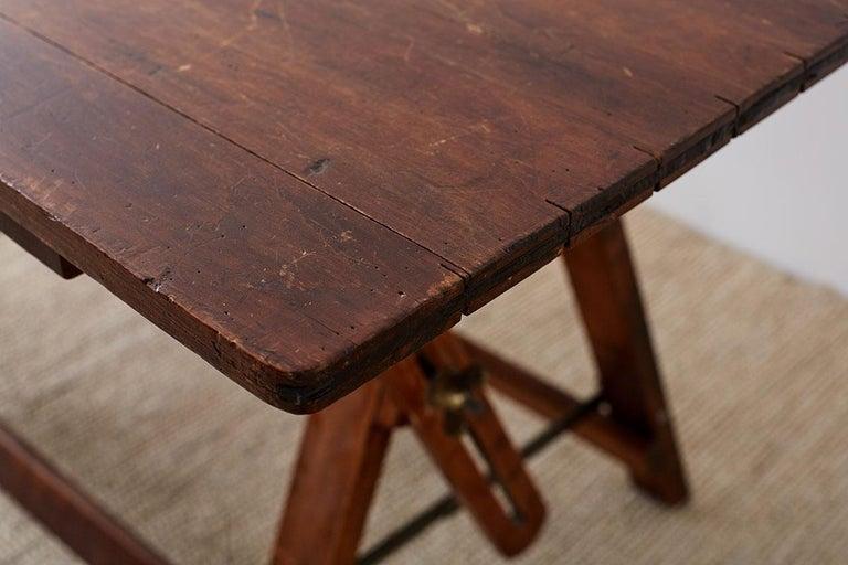 Amerikanische Faltung Zeichentisch oder Schreibtisch 18