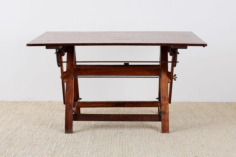Amerikanische Faltung Zeichentisch oder Schreibtisch 4