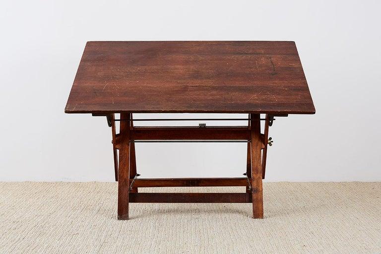 Amerikanische Faltung Zeichentisch oder Schreibtisch 6