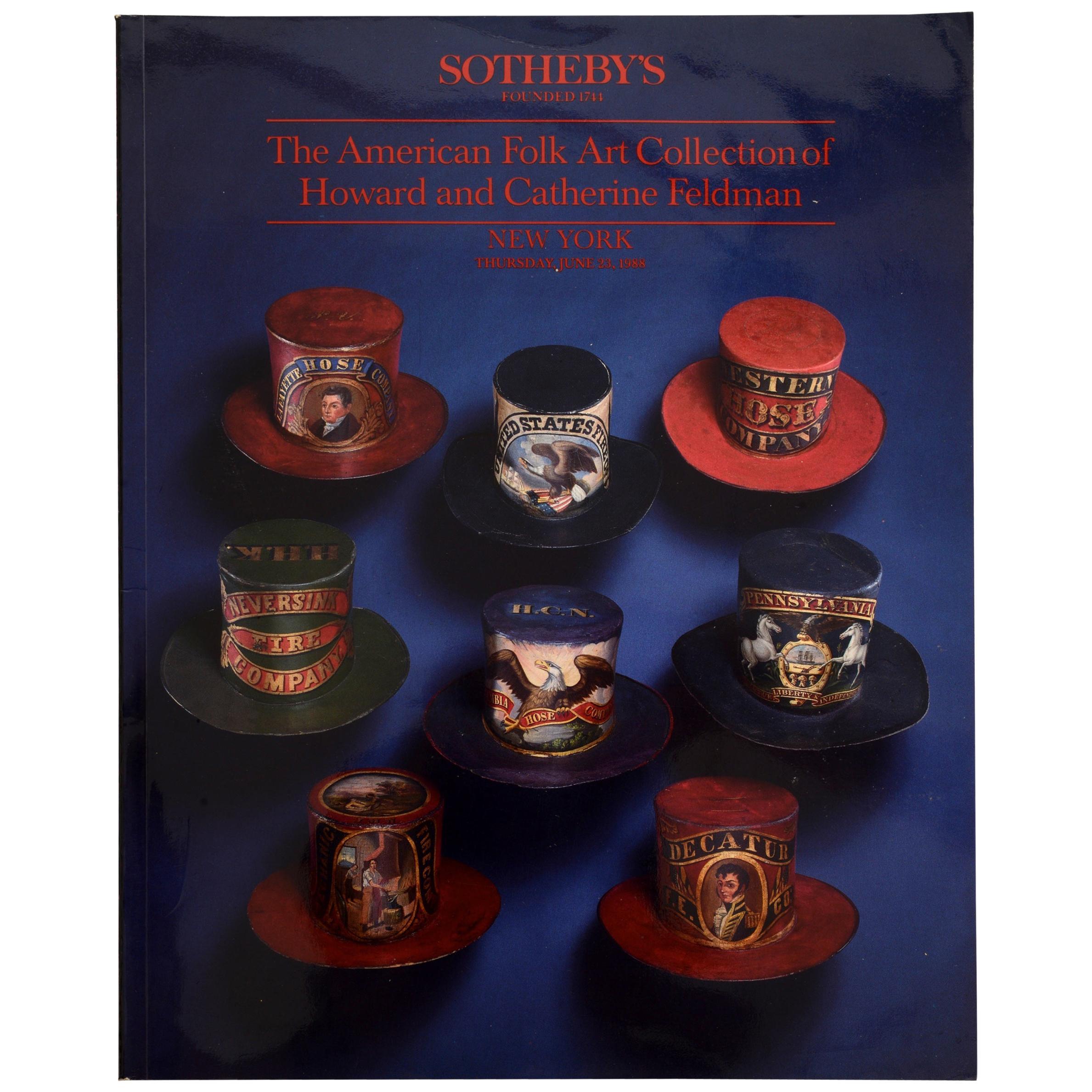 American Folk Art Collection of Howard & Catherine Feldman, Sotheby's 1st Ed