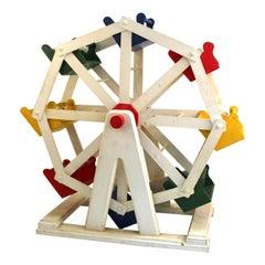 American Folk Art Ferris Wheel Model
