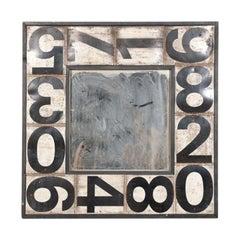 American Folk Art Framed Mirror