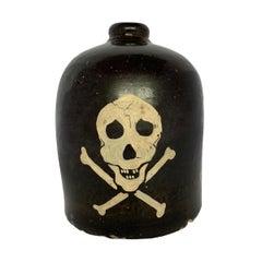 American Folk Art Liquor Jug
