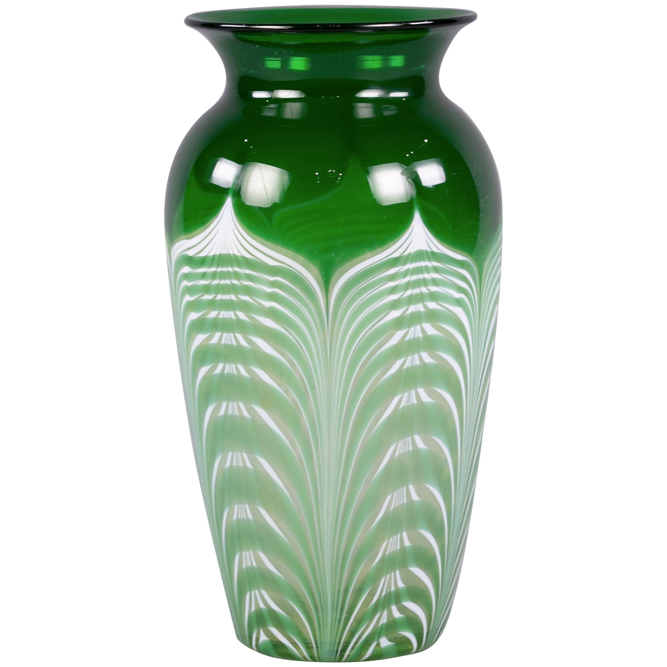 American Glass Vase, Early 20th Century