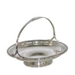 American Handled Silver Basket, Gorham