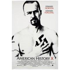 """American History X"" 1998 U.S. One Sheet Film Poster"