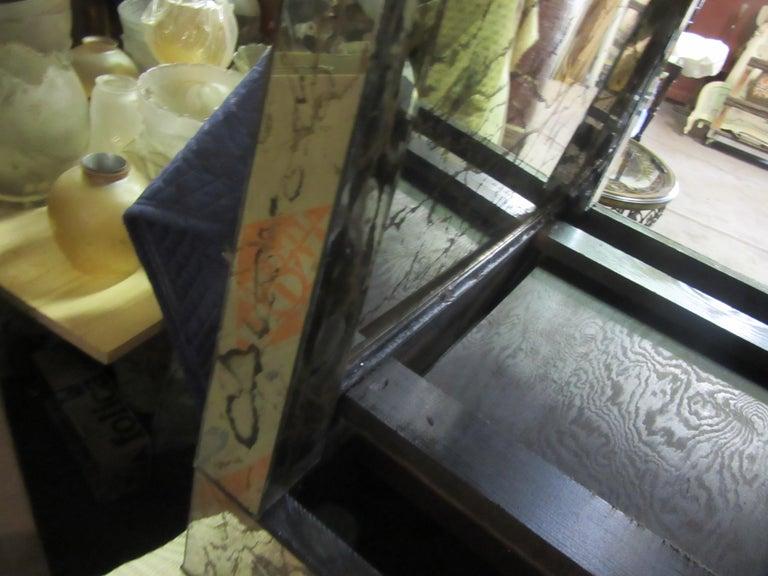 American Hollywood Regency Mirrored Nightstands For Sale 9