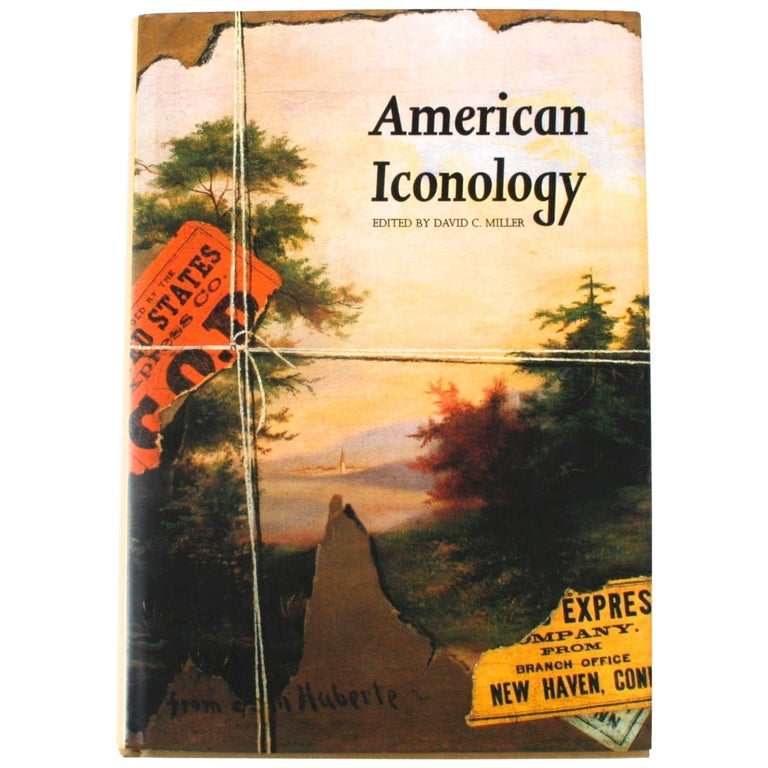 American Iconology, First Edition For Sale