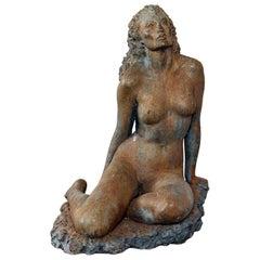 "American Important Bronze ""Sensual Beauty"" Midcentury Sculptor Stuart Benson"