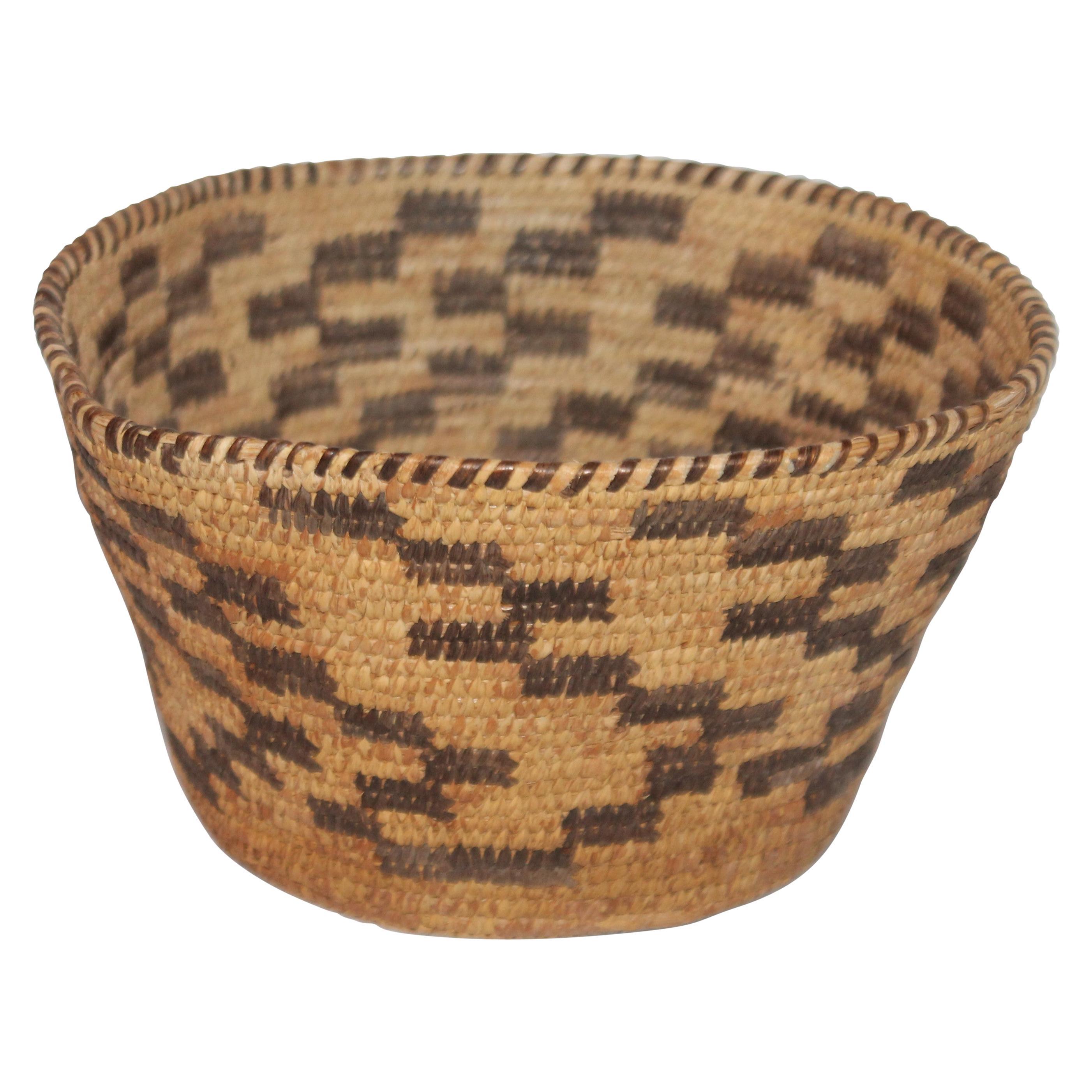 American Indian Pima Basket