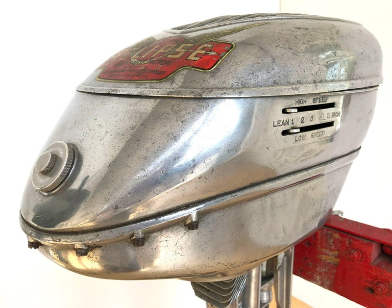 American Machine Age Outboard Motor 2