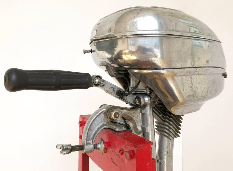American Machine Age Outboard Motor 3