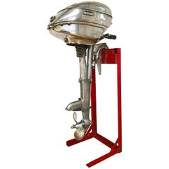 American Machine Age Outboard Motor