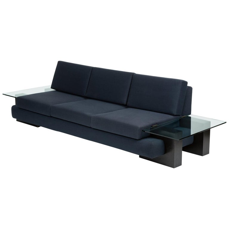Sofa With Gl End Tables By Kroehler
