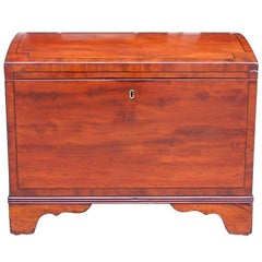 American Mahogany Gentleman's Traveling Chest