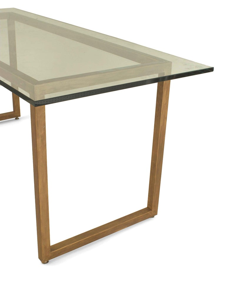 20th Century American Mid-Century Modern Style Dining Table For Sale