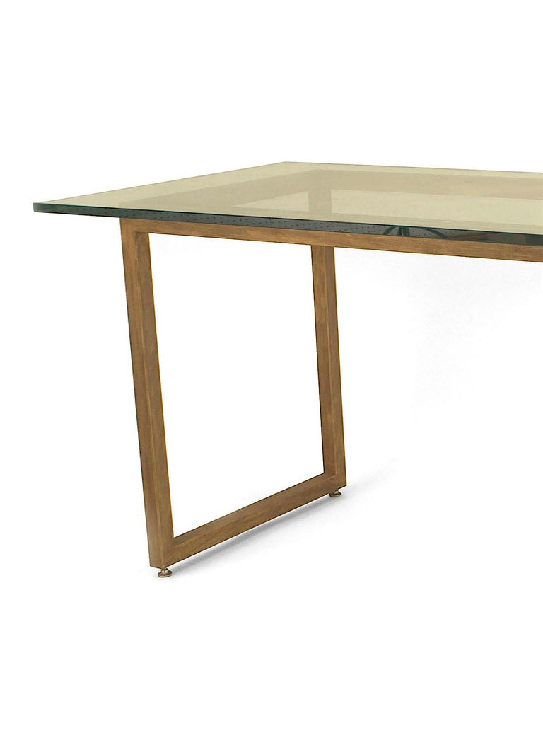 American Mid-Century Modern Style Dining Table For Sale 1