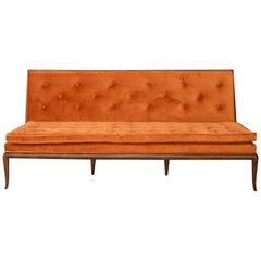 American Midcentury Sofa Designed by T.H. Robsjohn Gibbings, 1950