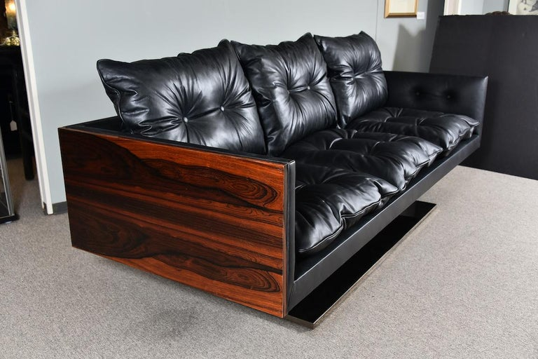 Late 20th Century American Midcentury Sofa Done by W. Platner For Sale