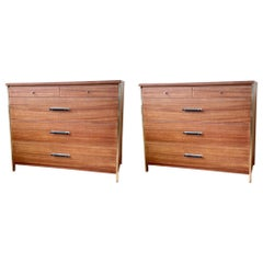 American Midcentury Pair of Dressers Designed by Paul McCobb for Calvin Group