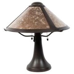 American Mission Style Beige Table Lamp
