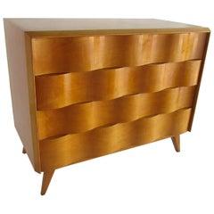 American Modern Birch Wavefront Dresser, Sir Edmund Spence