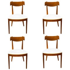 American Modern Set of 4 Dining Chairs Designed by Kipp Stewart for Drexel