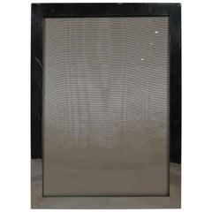 American Modern Sterling Silver Frame for Portrait or Landscape Photo