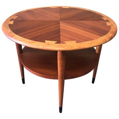 "American Modern Walnut Coffee or Side Table ""Acclaim"" Series by Lane Furniture"