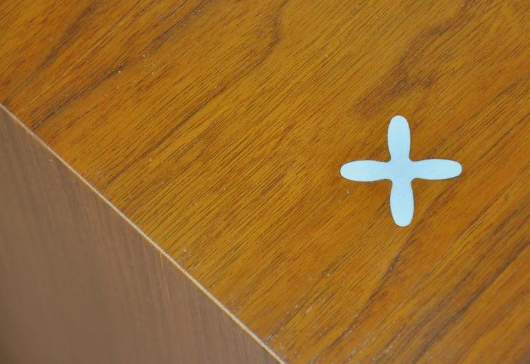 American of Martinsville Accord Walnut Triple Dresser For Sale 2