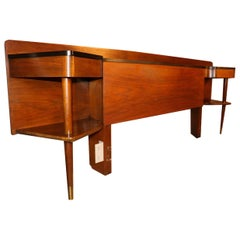 American of Martinsville Mid-Century Modern Queen Headboard