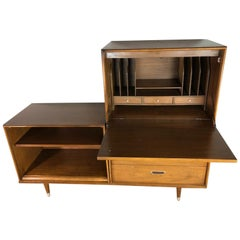 American of Martinsville Modular Hutch and Desk