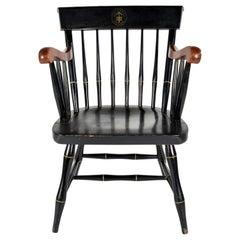 American Office Chair, Black, Nicholas & Stone Co. Massachusetts, 1970s