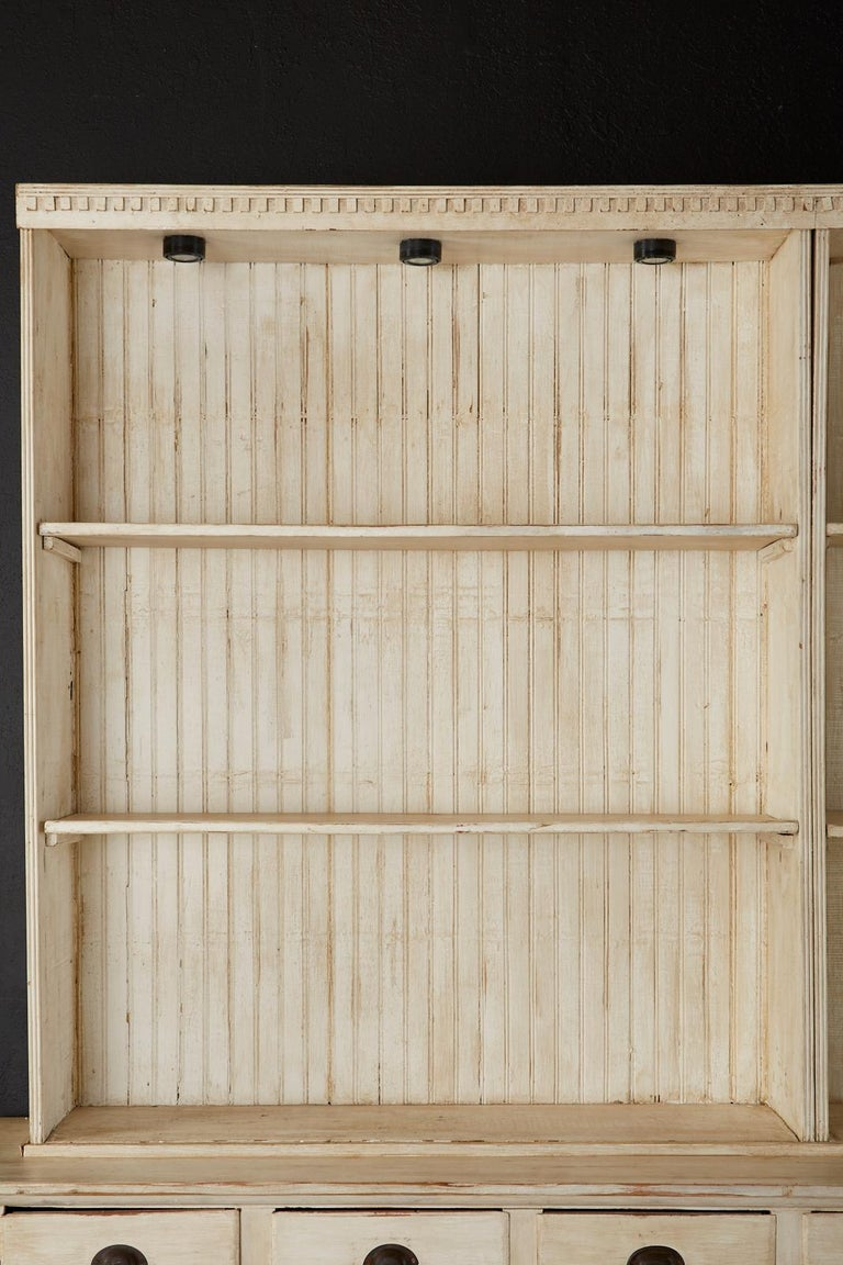 American Painted Pine Kitchen Cabinet Cupboard or Bookcase 5