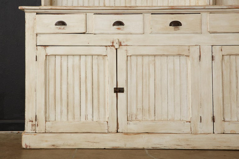 American Painted Pine Kitchen Cabinet Cupboard or Bookcase 6