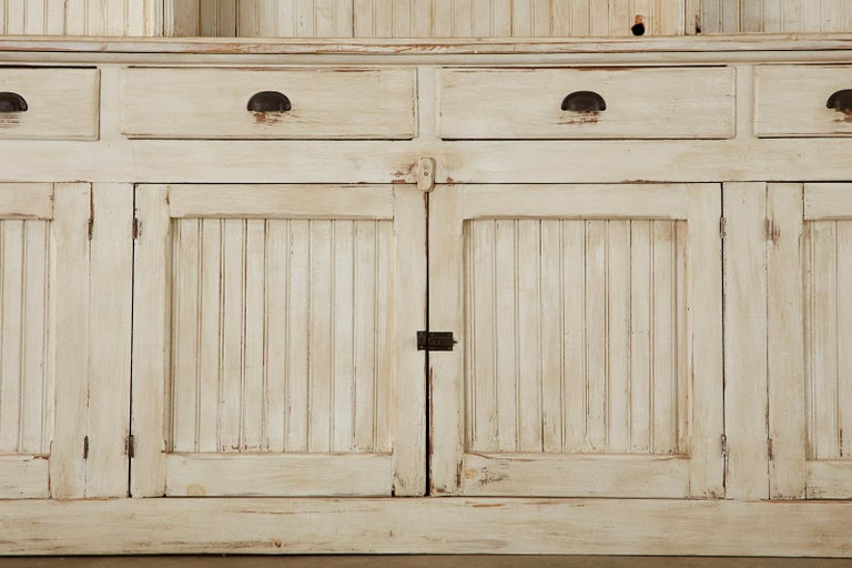American Painted Pine Kitchen Cabinet Cupboard or Bookcase 7
