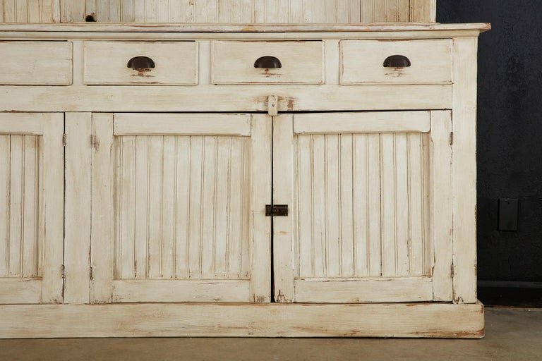 American Painted Pine Kitchen Cabinet Cupboard or Bookcase 8
