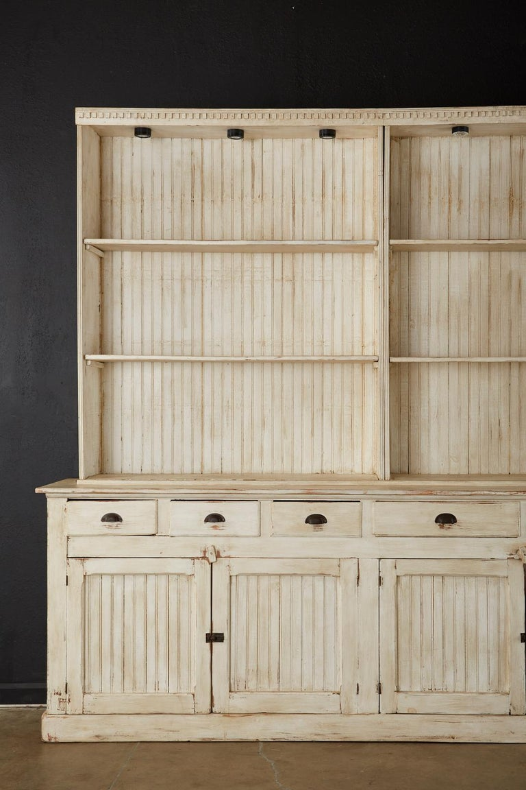 American Painted Pine Kitchen Cabinet Cupboard or Bookcase 2