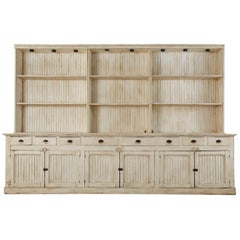 American Painted Pine Kitchen Cabinet Cupboard or Bookcase