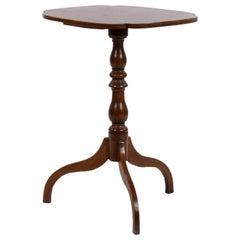 American Pedestal Mahogany Tripod Table