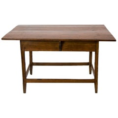 American Pine Stretcher Base Table