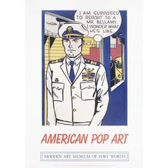 American Pop Art 2012 U.S. Exhibition Poster