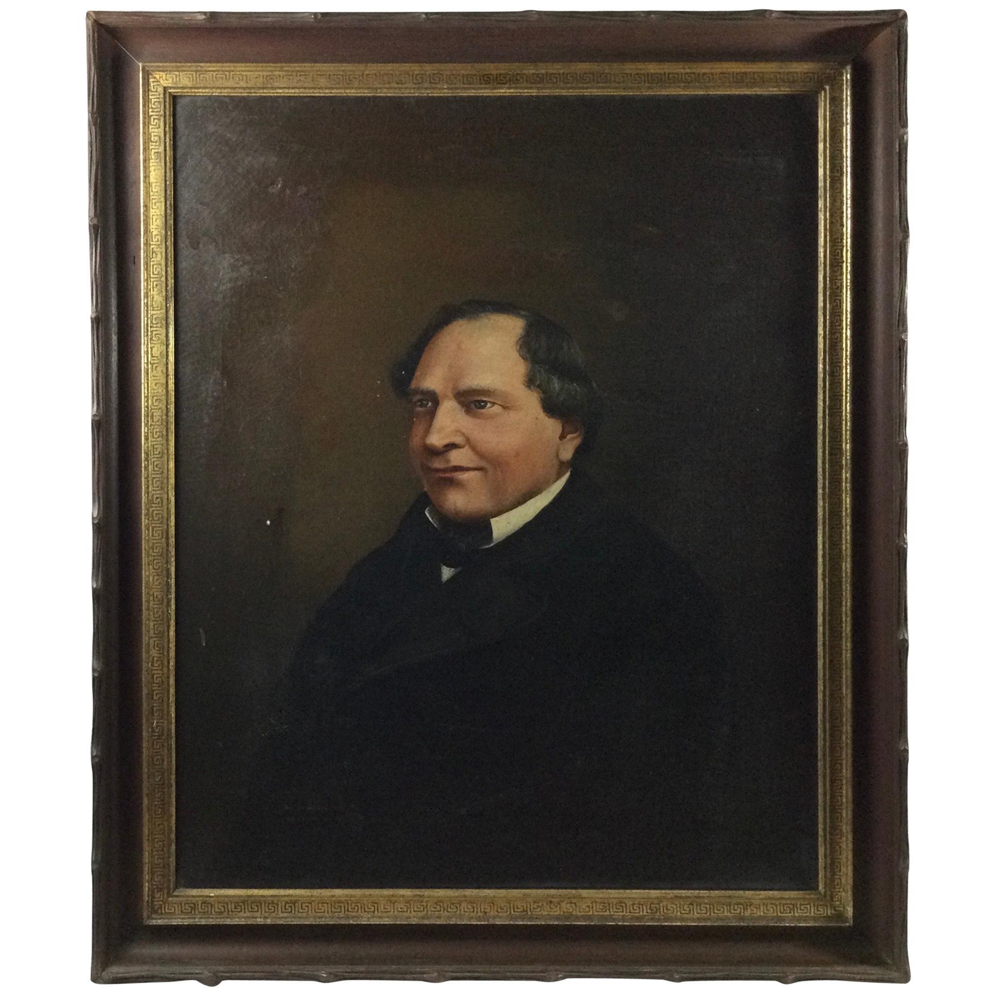 American Portrait of a Gentleman, circa 1800s