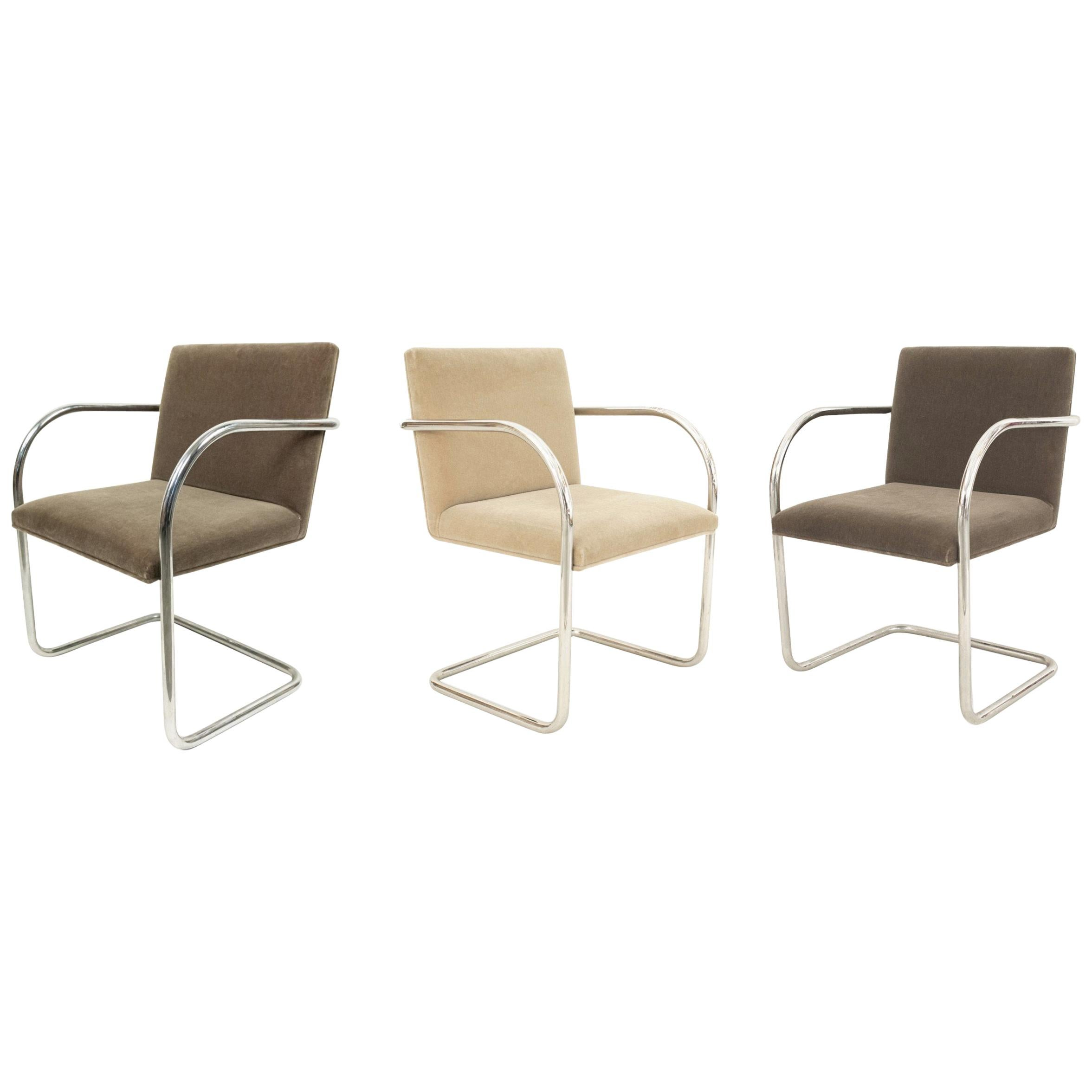 American Post-War Design Leather Chairs
