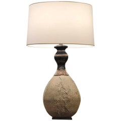 American Postwar Design Textured Table Lamp, by Gary DiPasquale