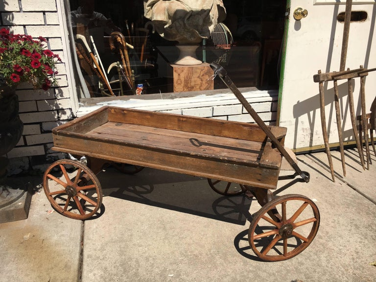 19th Century American Primitive Cabinet with Original Paint For Sale