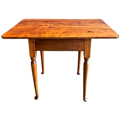 American Queen Anne Tavern Table, 18th Century